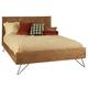 Ligna Jackson King Panel Bed in Cinnamon