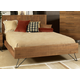Ligna Jackson 4-Piece Panel Bedroom Set in Cinnamon