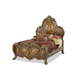 AICO Chateau Beauvais King Panel Bed in Noble Bark