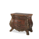 AICO Chateau Beauvais Bedside Chest in Noble Bark 75040-39