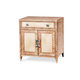 AICO Biscayne West Nightstand in Sand 80040-102