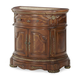 AICO Cortina Bedside Chest in Honey Walnut N65040-28
