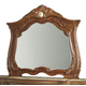 AICO Cortina Mirror in Honey Walnut N65060-28