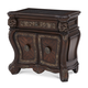 AICO Essex Manor Bedside Chest in Deep English Tea N76040-57