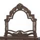 AICO Essex Manor Mirror in Deep English Tea N76060-57