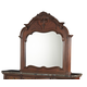AICO Excelsior Mirror in Fruitwood