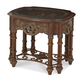 AICO Essex Manor End Table in Deep English Tea N76202-57