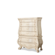 AICO Chateau De Lago Drawer Chest Top and Base in Blanc 9052070-04