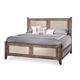 AICO Biscayne West King Panel Bed in Haze 80000KPL3-200