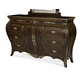 AICO Imperial Court Dresser in Radiant Chestnut 79050-40
