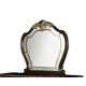 AICO Imperial Court Miror in Radiant Chestnut 79060-40