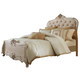 AICO Lavelle Cottage California King Panel Bed in Blanc