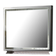 AICO Hollywood Swank Rectangular Dresser Mirror in Amazing Gator 03060R-33