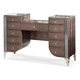 AICO Hollywood Swank Upholstered Vanity in Amazing Gator 03058-33