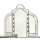 AICO Hollywood Swank Vanity Mirror in Amazing Gator 03068RN-33