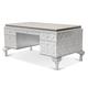 AICO Hollywood Swank Desk in Pearl Caviar 03207-11
