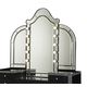 AICO Hollywood Swank Vanity Mirror in Black Iguana 03068RN-81