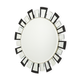 AICO Hollywood Swank Facet Mirror NU03069-00