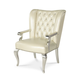 AICO Hollywood Swank Desk Chair in Creamy Pearl 03244-14