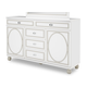 AICO Sky Tower Dresser in White Cloud 9025650-108