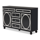 AICO Sky Tower Dresser in Black Ice 9025650-805