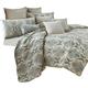 AICO Avignon 9-pc Queen Comforter Set in Spa BCS-QS09-AVGNN-SPA