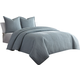 AICO Delta 3-pc King Duvet /Coverlet Set in Air BCS-KD03-DELTA-AIR