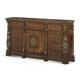 AICO Villa Valencia Dresser in Chestnut 72050-55