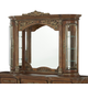 AICO Villa Valencia Mirror with Lighting Box in Chestnut