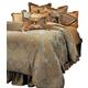 AICO Elizabeth 12-pc Queen Comforter Set in Aqua  BCS-QS12-ELZBTH-AQA