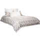 AICO Harper 9-pc Queen Comforter Set in Natural BCS-QS09-HARPR-NAT