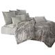 AICO Jaxon 10-pc King Comforter Set in Mist BCS-KS10-JAXON-MIST
