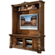 AICO Villa Valencia Entertainment Wall in Chestnut 72000ENT3-55