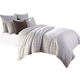 AICO Manchester 8-pc King Duvet Set in Crème BCS-KD08-MNCTR-CRM