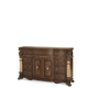 AICO Victoria Palace Dresser in Light Espresso 61050-29