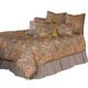 AICO Tricia 12-pc Queen Comforter Set in Spa BCS-QS12-TRICIA-SPA