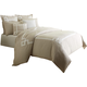 AICO Simplicity 8-pc King Duvet Set in Natural BCS-KD08-SMPLC-NAT
