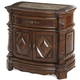AICO Windsor Court Nightstand in Vintage Fruitwood 70040-54