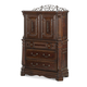 AICO Windsor Court Gentleman's Chest in Vintage Fruitwood 70070-54