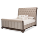 AICO Valise California King Upholstered Bed in Amazon Tan Gator 9026600CK4-110