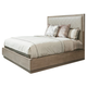 Lexington Shadow Play Uptown Cal King Platform Bed in Mocha 721-135C