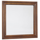 All-American Villa Sophia Landscape Mirror in Antique Cherry
