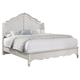 All-American Villa Sophia Queen Shelter Bed in Whole Cream