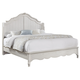 All-American Villa Sophia King Shelter Bed in Whole Cream