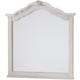 All-American Villa Sophia Shelter Mirror in Whole Cream