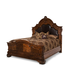 AICO Tuscano Melange Queen Mansion Bed in Melange