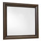 All-American Affinity Landscape Mirror in Dark Roast