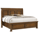All-American Affinity King Sleigh Storage Bed in Antique Cherry