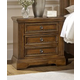 All-American Affinity 3 Drawer Nightstand in Antique Cherry