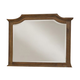 All-American Affinity Arch Mirror in Antique Cherry